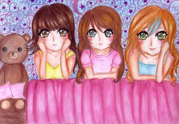 Pijama Party~ by PinkClaire-san