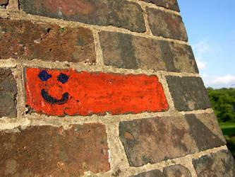 Even bricks can be happy by RevanREK