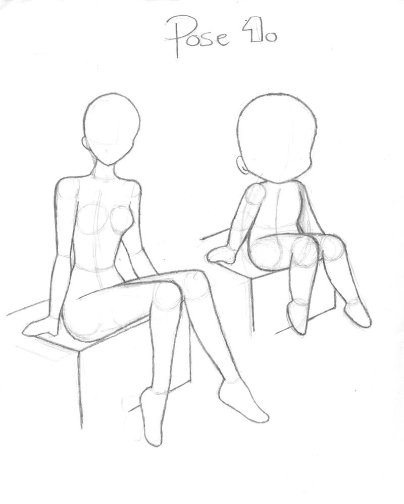This is a graphic of Comprehensive Male Sitting Poses Drawing