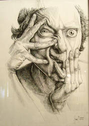 deformed face by gorkemoztas
