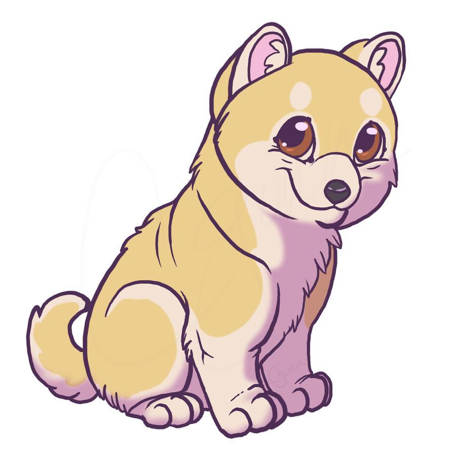 the gallery for  gt  cute shiba puppy Shiba Inu Icons shiba inu clip art black and white
