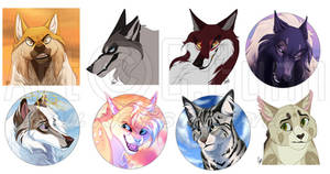 YCH Icons: August batch 1