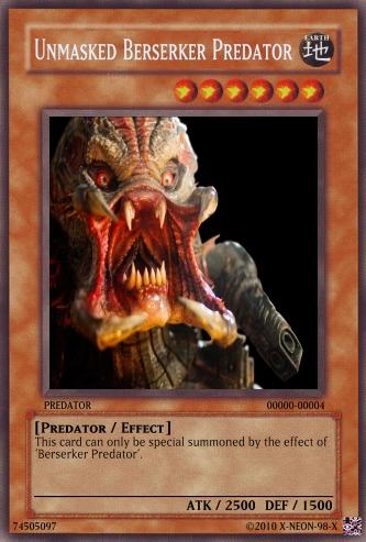 Unmasked Berserker Predator by X-NEON-98-X on DeviantArt