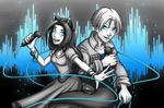 Raffle prize: Julia and Trunks by Yochanan-dreamer