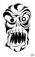 Ghoul head by ServantofEntropy