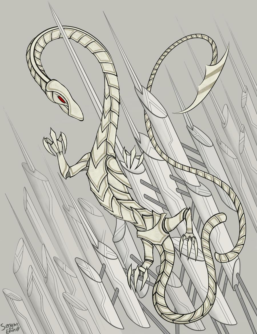 Cyber Dragon0 by ServantofEntropy