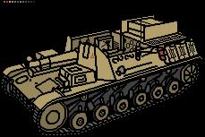 Sturmpanzer II by ServantofEntropy
