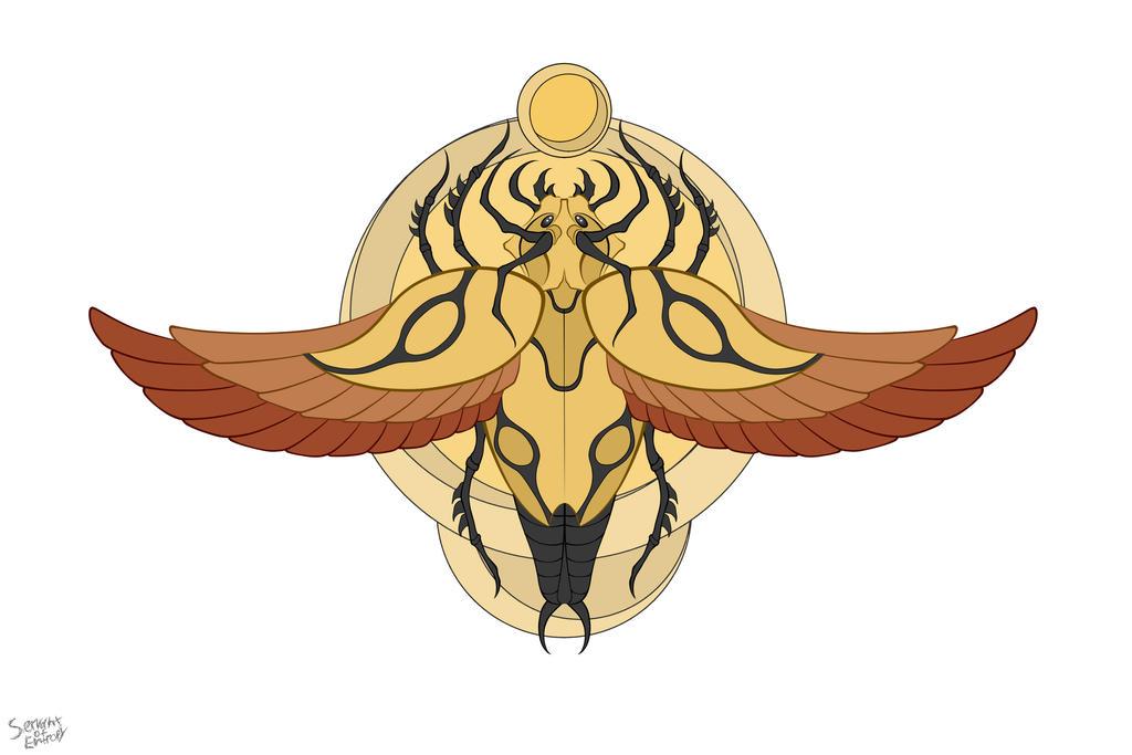 The golden dussian scarabs by ServantofEntropy