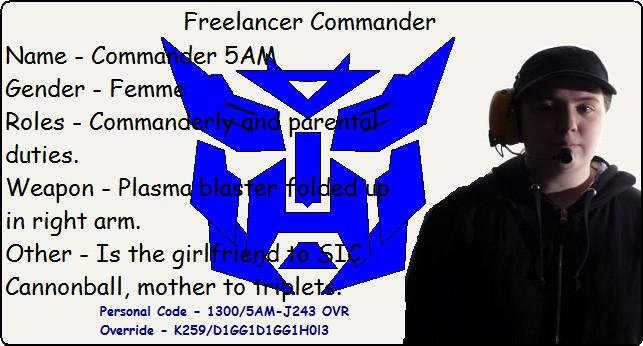 Commander5AM's Profile Picture