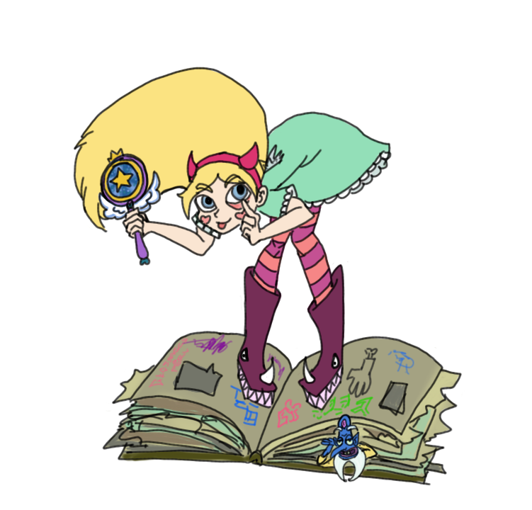 Star Butterfly by FlamingRedZombie