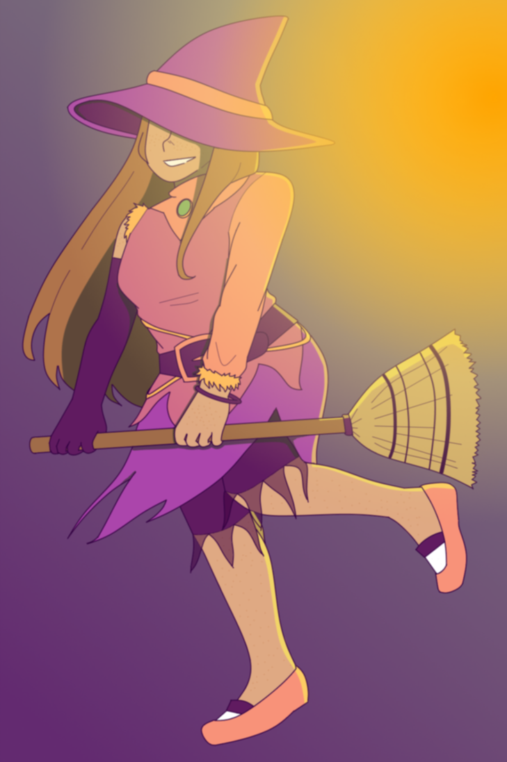 Witch by Puppet3Art