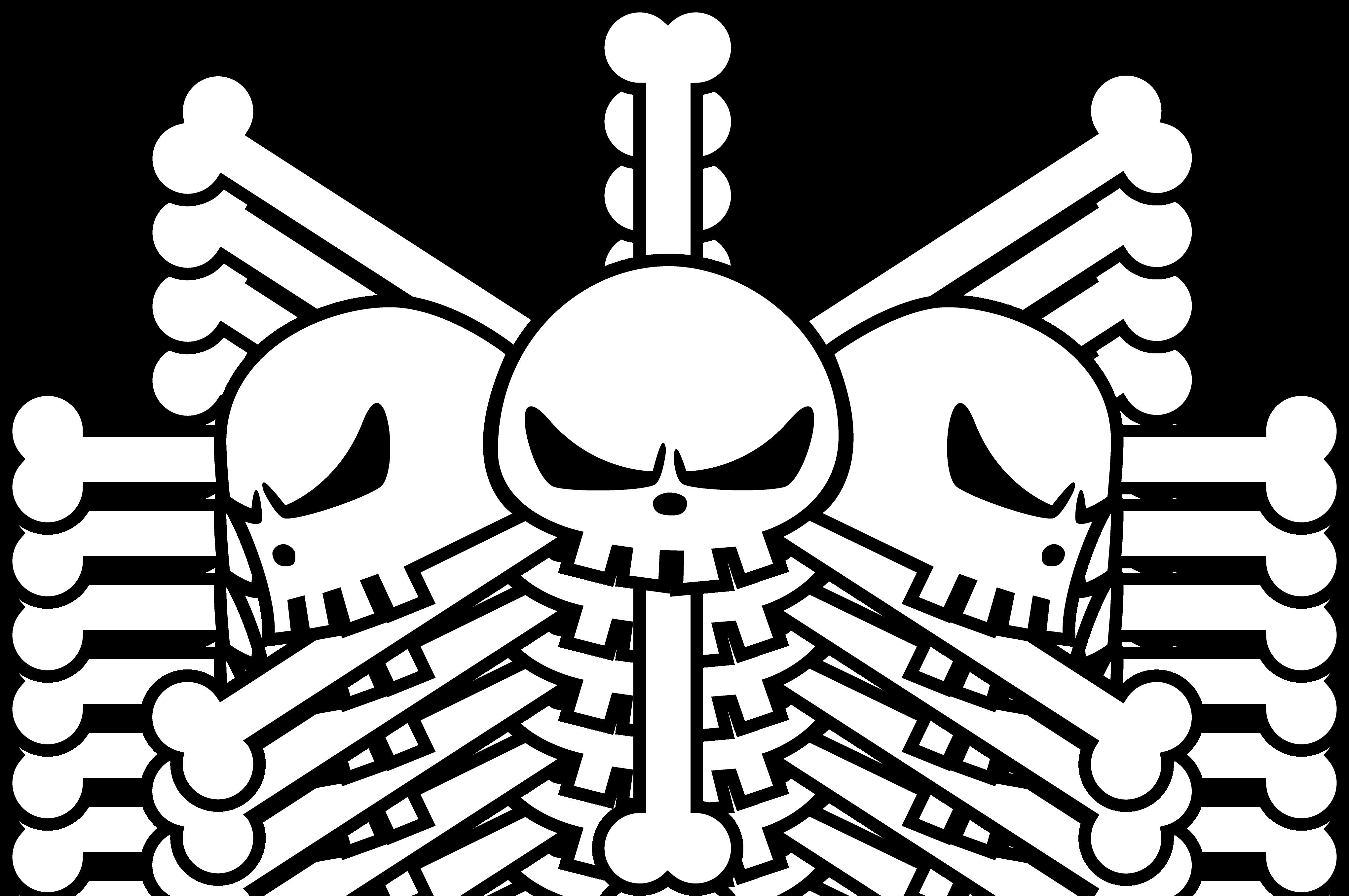 blackbeard pirate flag one piece