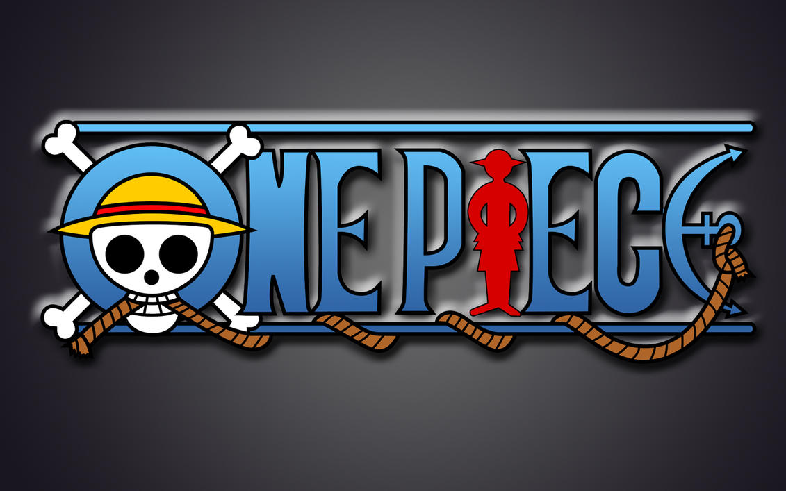 OnePiece Logo WallPaper By Zerocustom1989