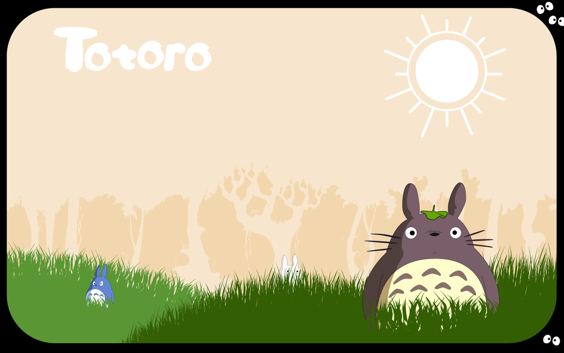 Totoro by zerocustom1989