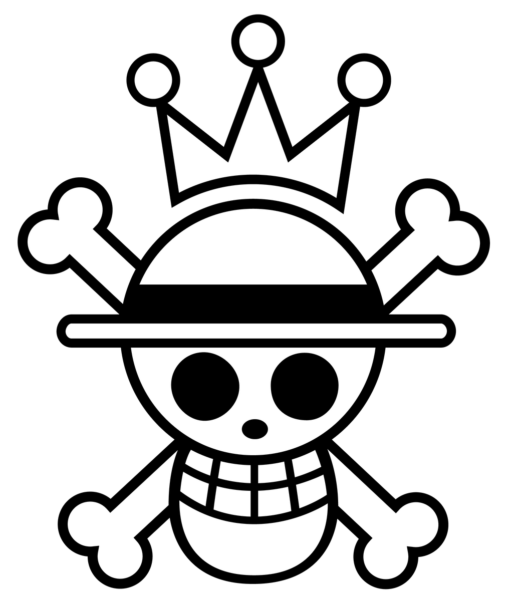 King Luffy Symbol by zerocustom1989