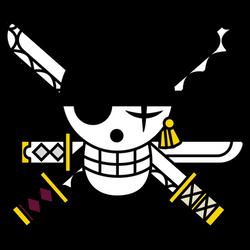 Zoro Flag SYmbol -Timeskip