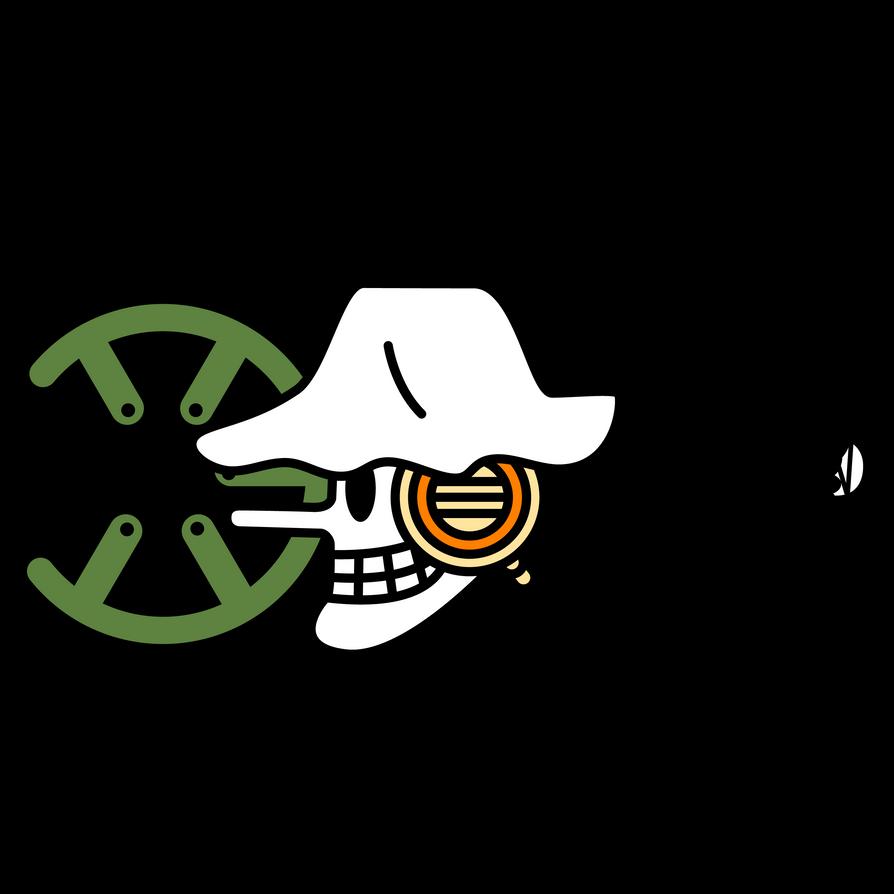 Usopp Flag Symbol - Timeskip by zerocustom1989