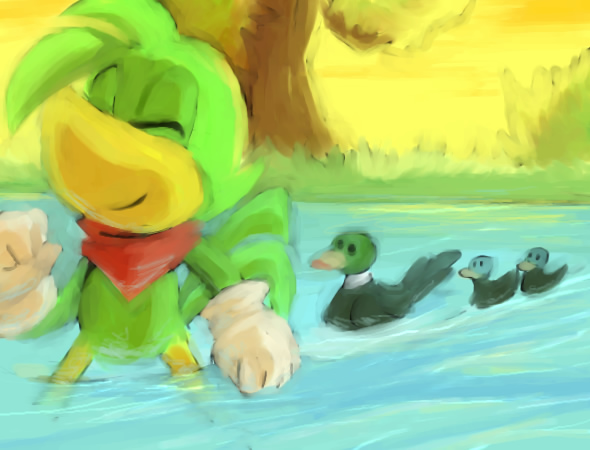 Ducks by tortaviso