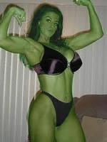 Me as She Hulk by thebestshehulkfan