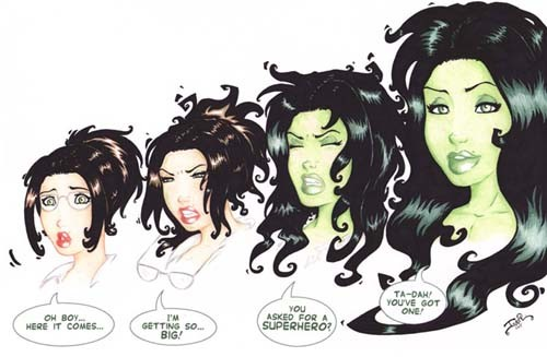 The gallery for --> Red She Hulk Transformation Deviantart