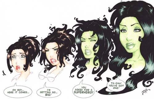 She Hulk Transformation by thebestshehulkfan