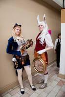 Steampunk Alice and Wonderland by JaniellMarie