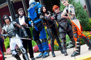 Mass Effect Cosplay Group by JaniellMarie