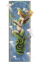 Melusine by Vincent-Covielloart