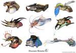 Dragon mounts