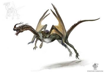 Dragon by Vincent-Covielloart
