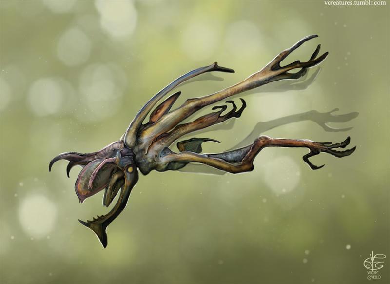 Tree skipper by Vincent-Covielloart