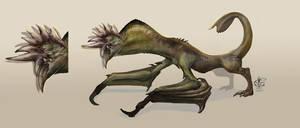 Razor Jaw Dragon by Vincent-Covielloart