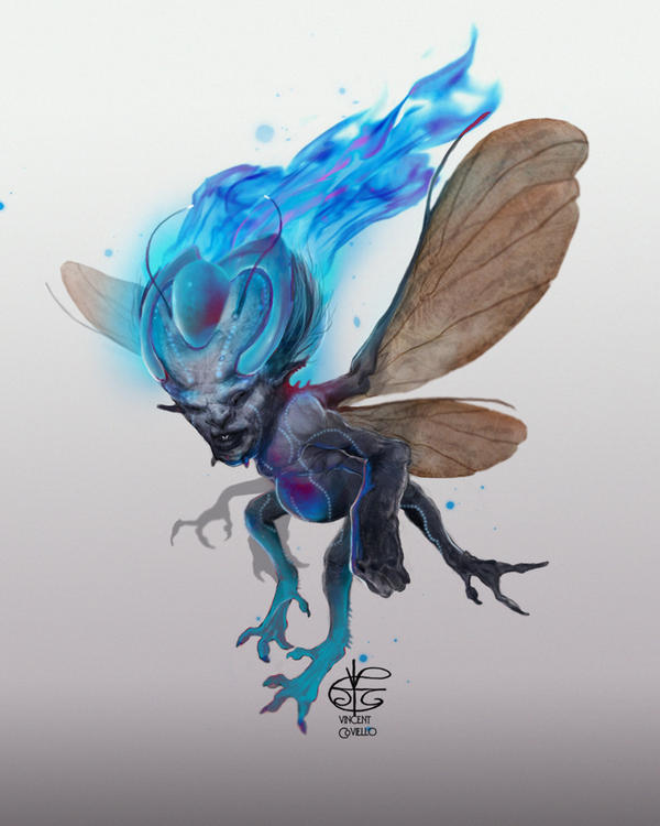 Will-o-the-wisp by Vincent-Covielloart