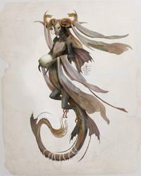 Dragon Mermaid : Mermay 2021