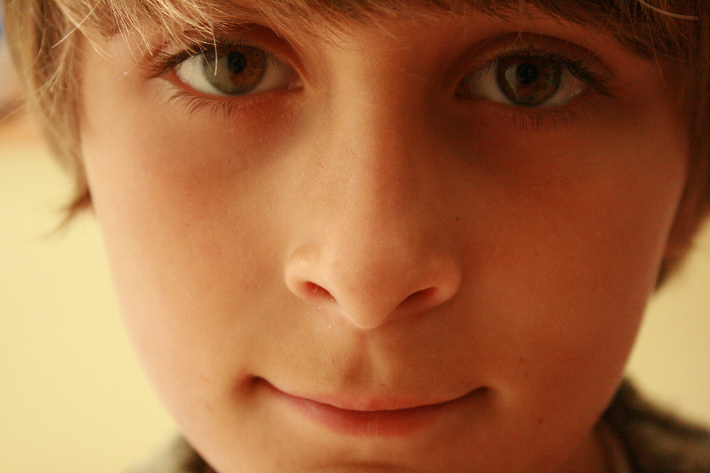 Little Boys With Brown Hair And Brown Eyes Brown Eyed Boy by Kitchentiles