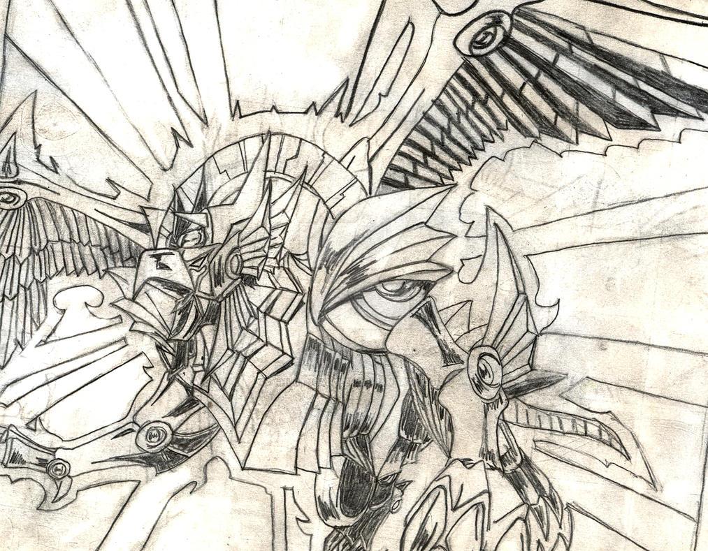 Winged Dragon Of Ra By Shurtugalgeek On DeviantArt