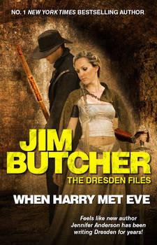 Mock-up Cover: Dresden Files: When Harry Met Eve