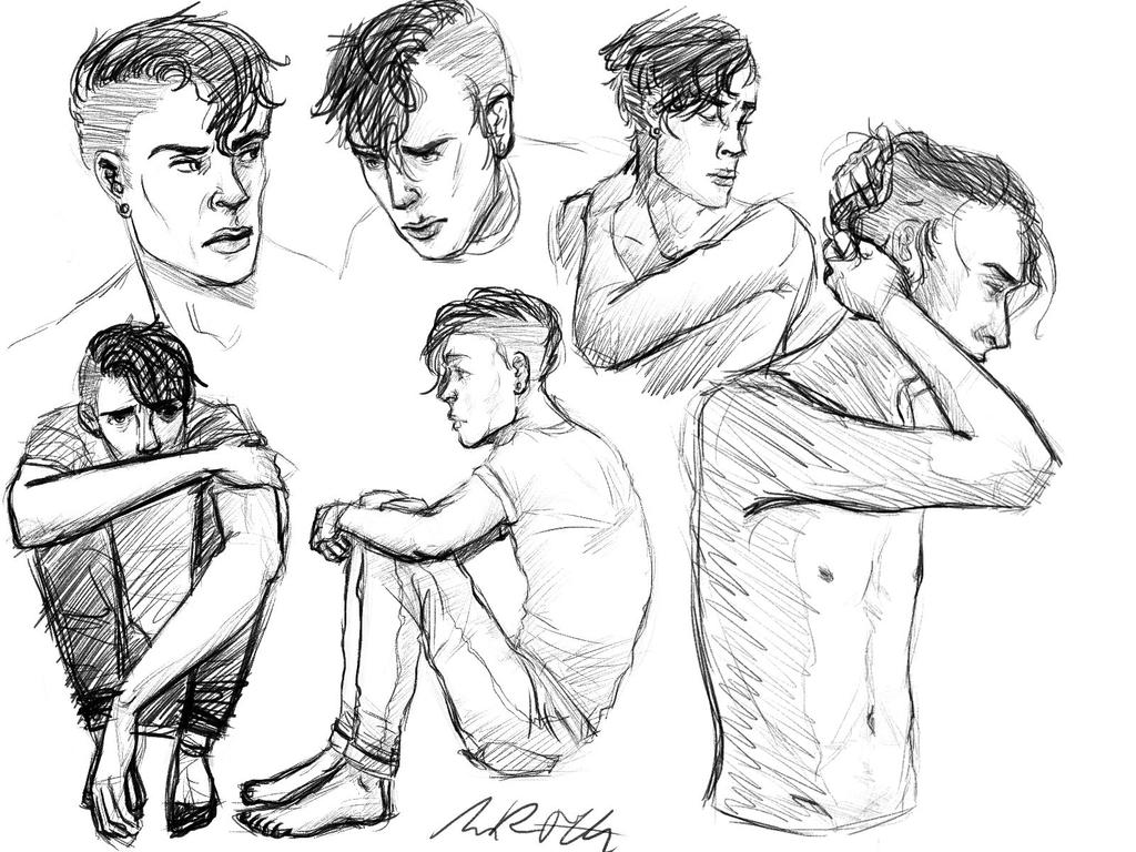 bradley sketches by crashmypartyhard