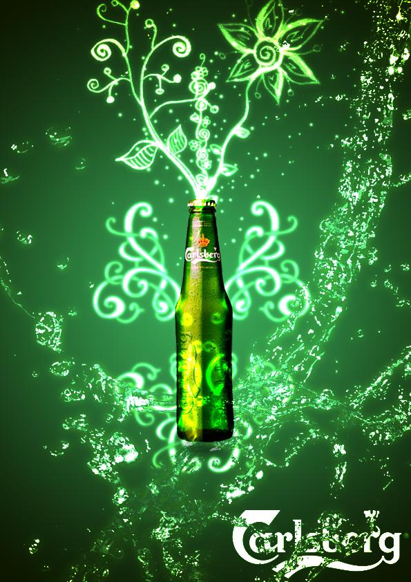 Green carlsberg by mokoisme on deviantart - Carlsberg beer wallpaper ...