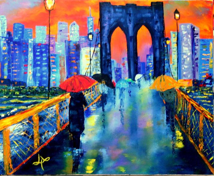 Le pont de brooklyn by lyswil on deviantart - Toile pont de brooklyn ...