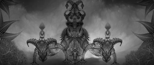 dragon guns by eddyhaze