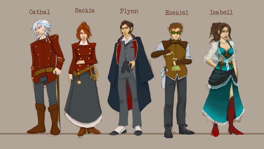 Steampunk Costumes Nr 1 By Smokewithoutmirrors On DeviantArt