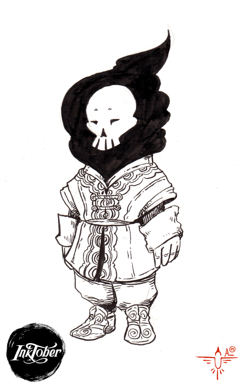 Inktober #11.b by smokewithoutmirrors