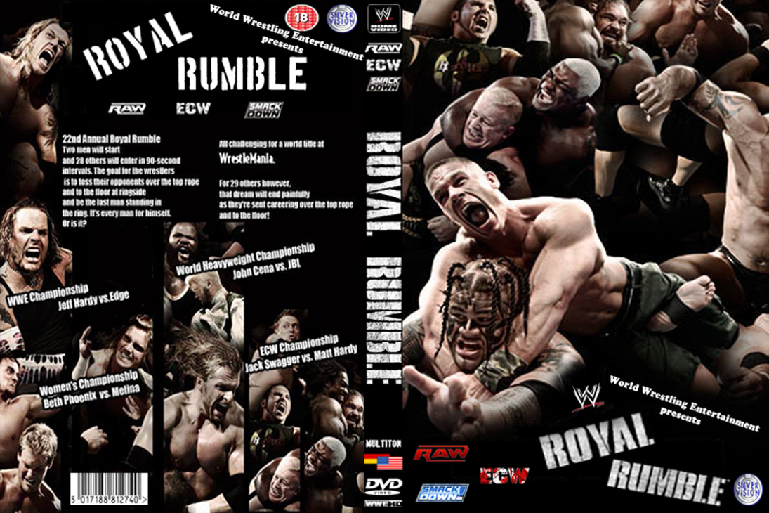 WWE Royal Rumble 2009 Cover by AladdinDesign