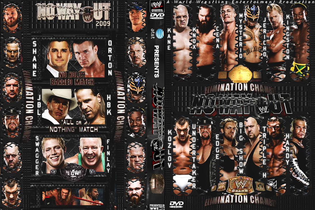 WWE No Way Out 2009 by AladdinDesign