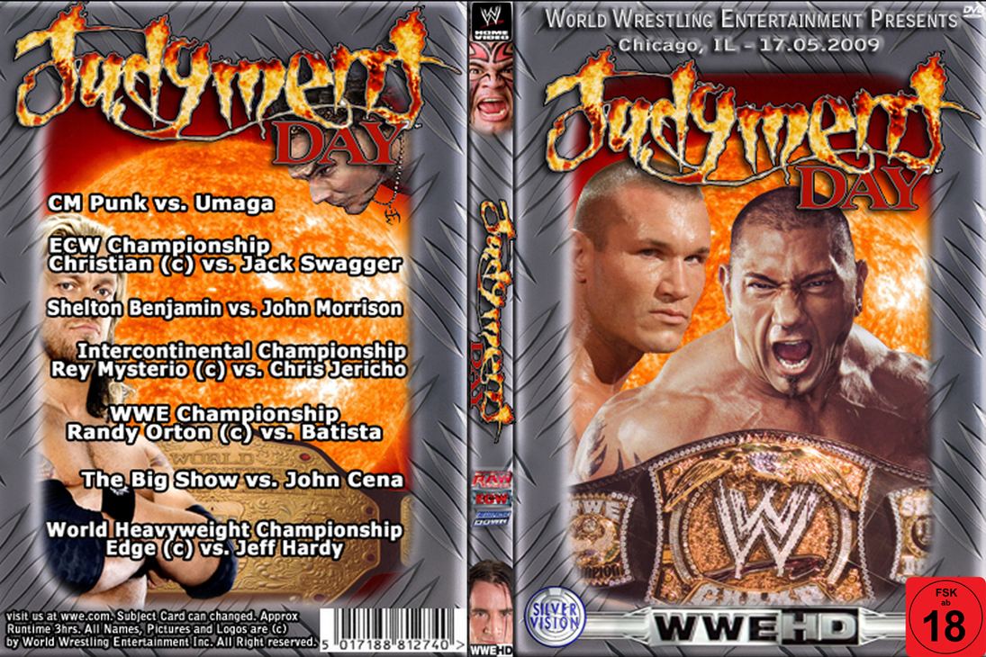WWE Judgment Day 2009 Cover by AladdinDesign