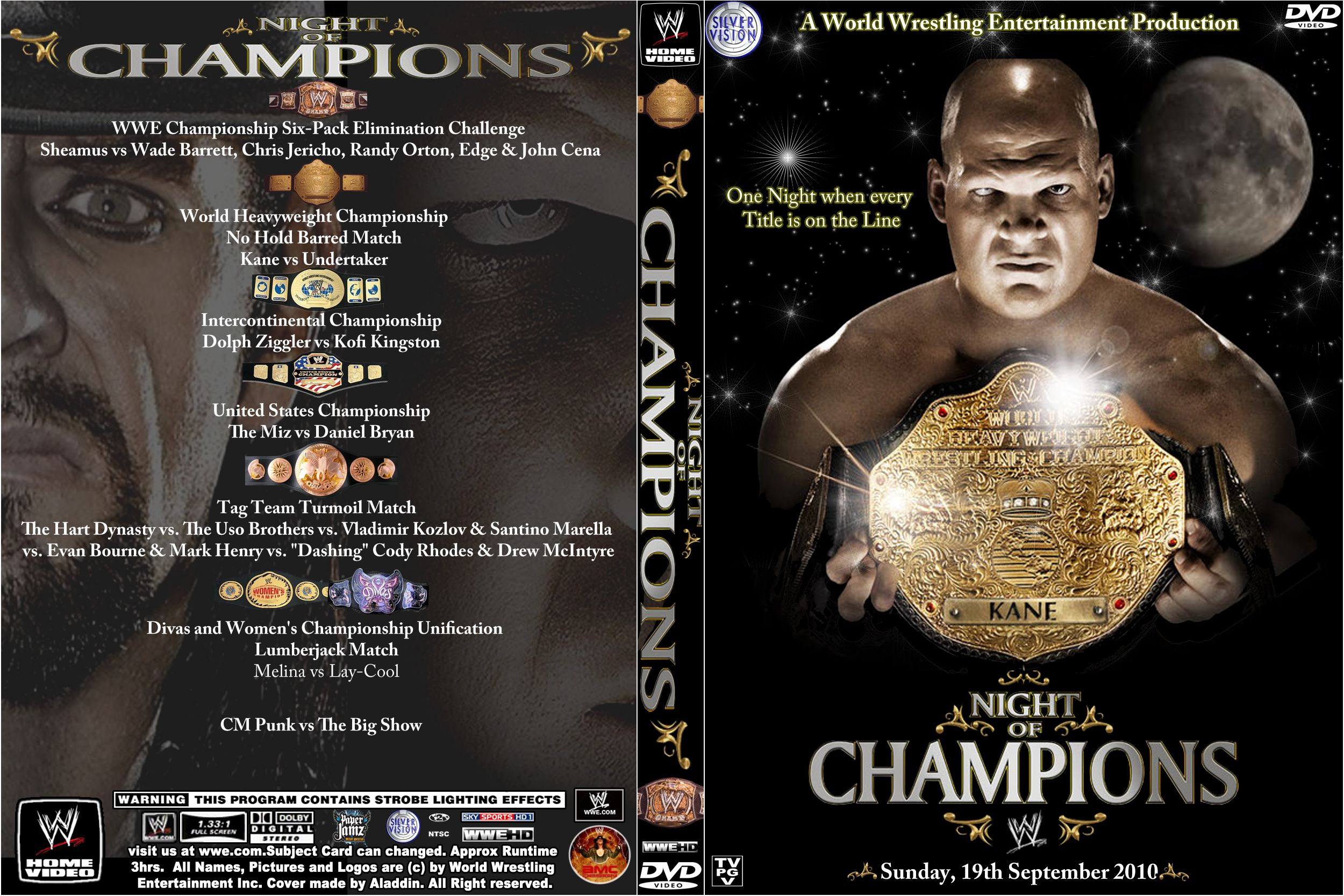 Image result for night of champions 2010 poster
