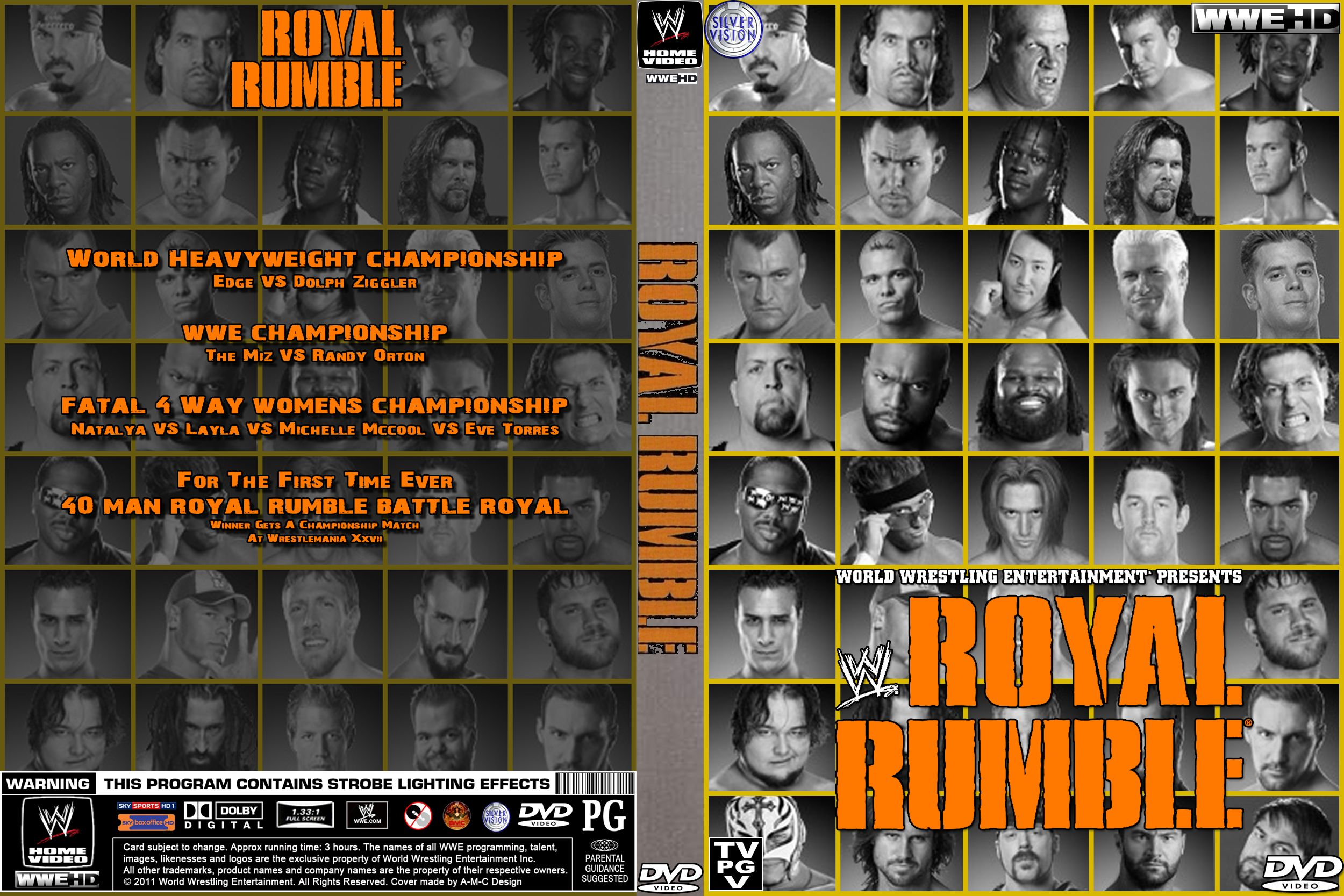 Image result for royal rumble 2011 poster