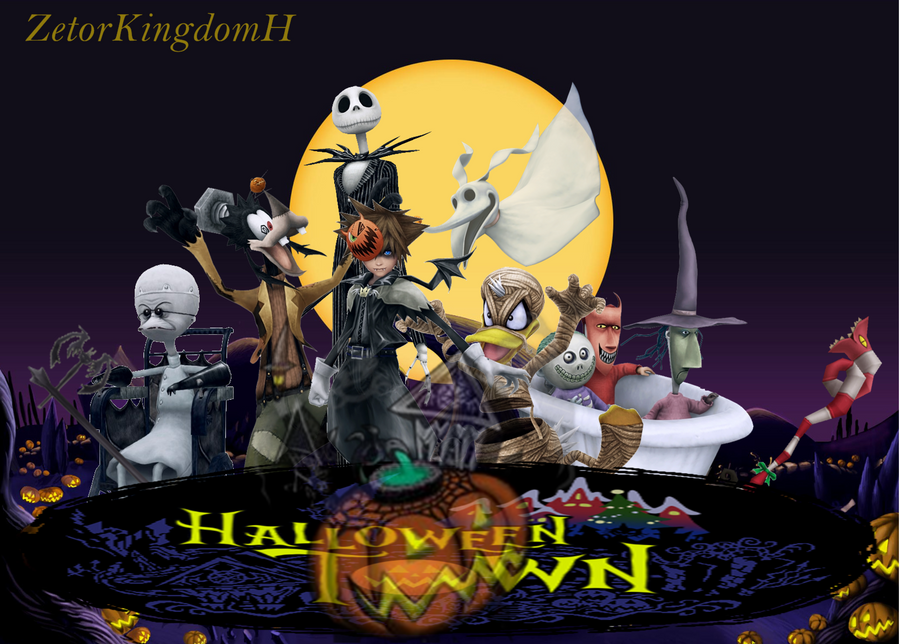 Kingdom Hearts - Halloween Town by zetorKingdomH on DeviantArt