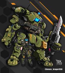 Titanfall 3 / Wishlist / Speedart by BRUCEKRAGER